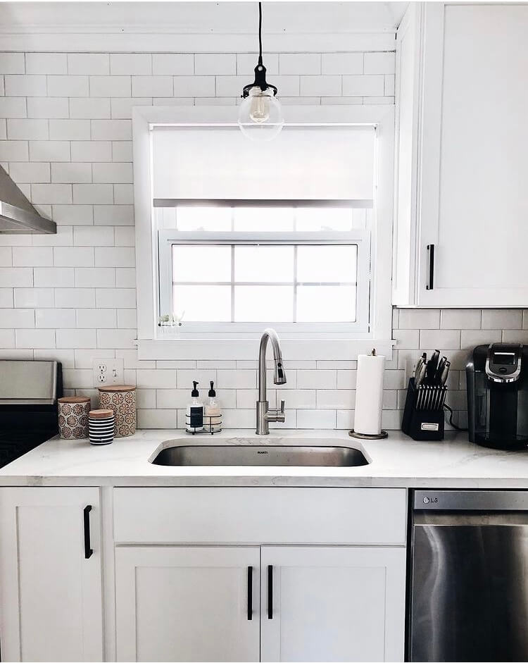 Countertops For White Cabinetry E W Kitchens